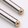 Portable travel retractable collapsible telescopic foldable metal stainless steel chopsticks with box