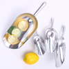 Aluminum alloy thick material food candy rice alum utility grain bar dry ice cube scoop shovel