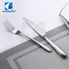 Cathylin 5pcs modern spoons forks knives stainless steel cutlery , 18 10 flatware set with hollow handle